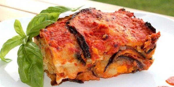 Parmigiana of eggplant