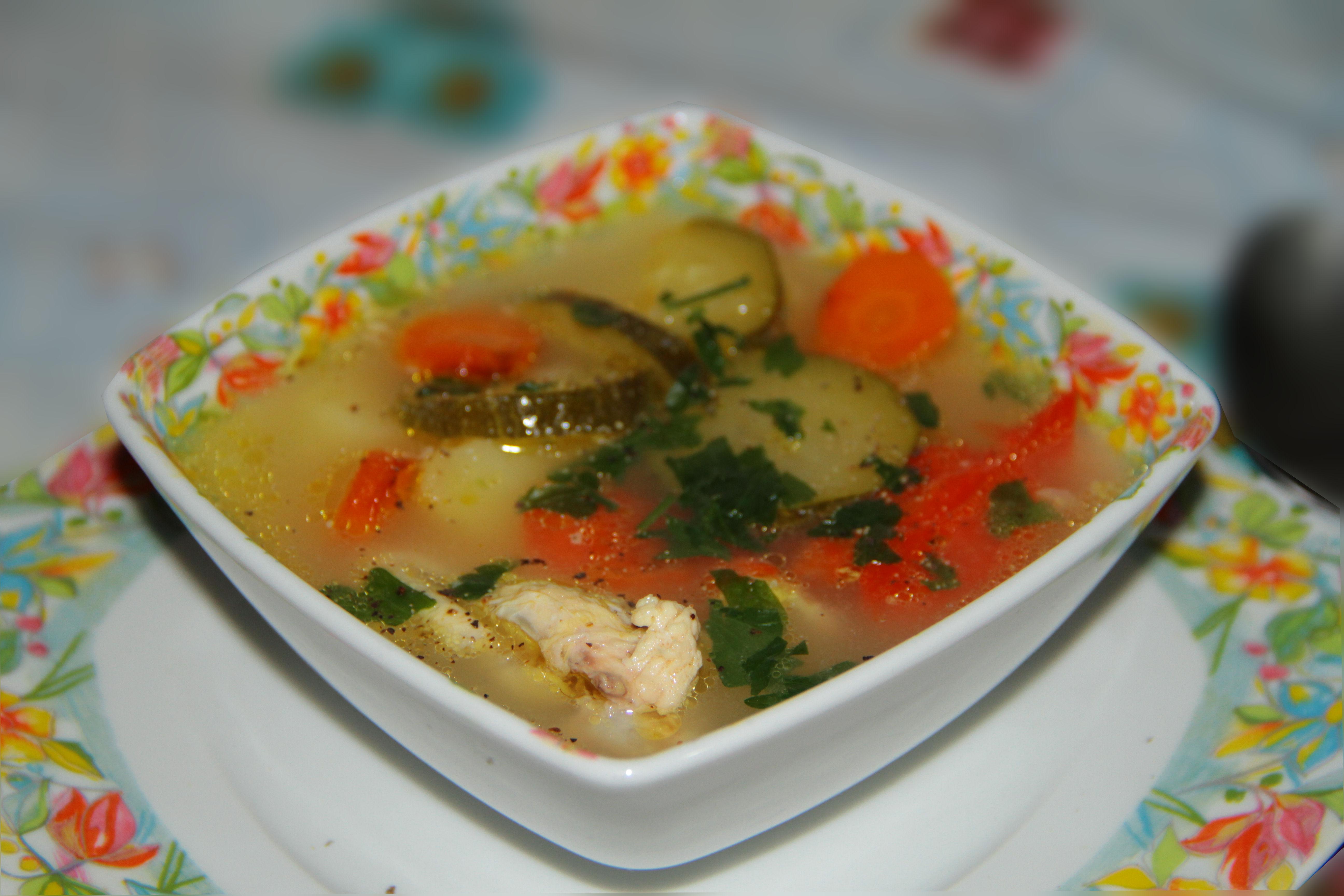 supica de pui cu legume