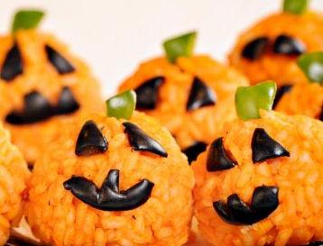 Zucche-di-riso-per-Halloween