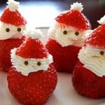 Babbo-Natale-con-panna-e-fragole-150x150