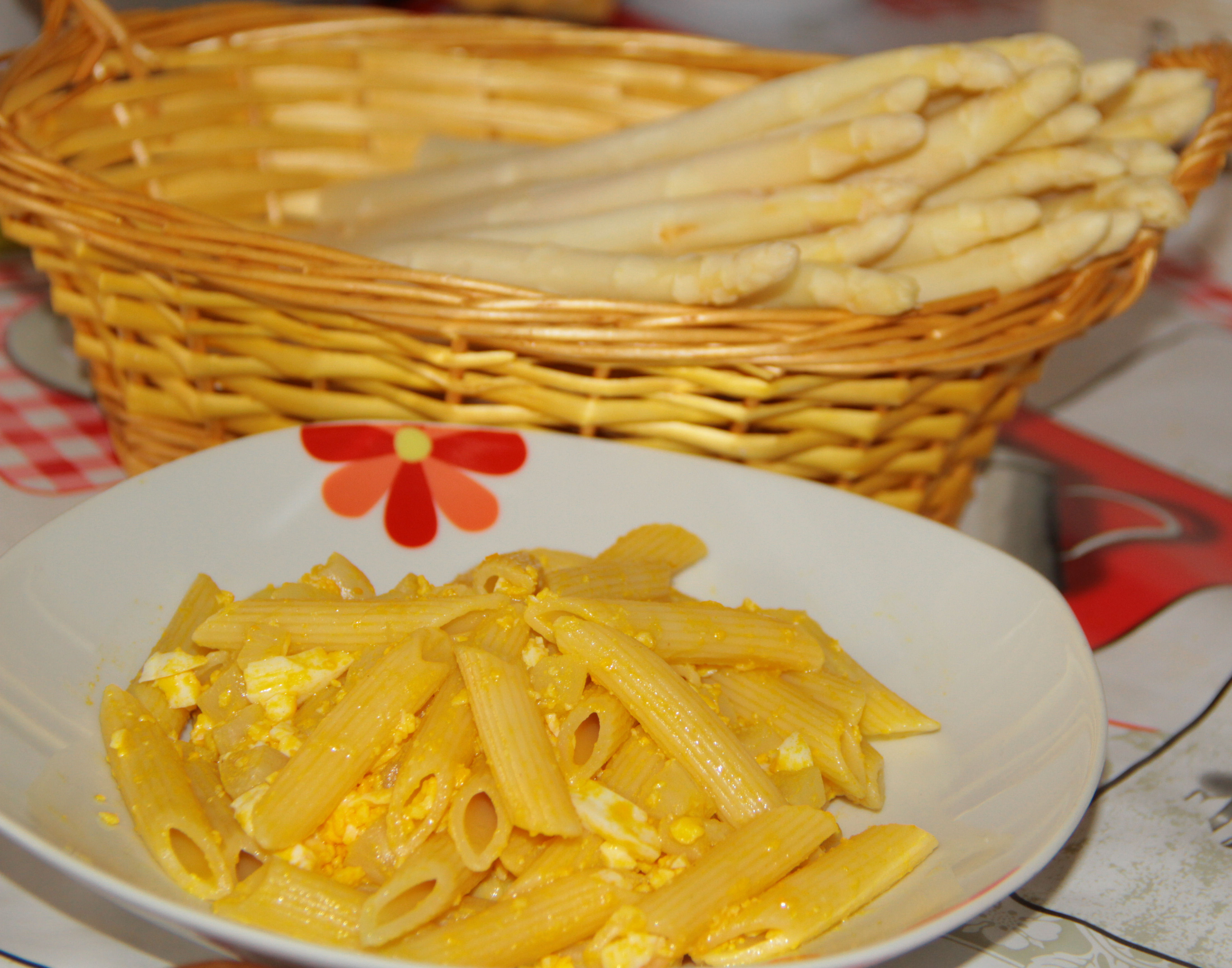 pasta sparanghel ou
