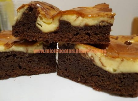 BROWNIES CHEESECAKE SI CIOCOLATA